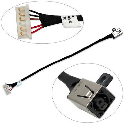 DC POWER JACK HARNESS CABLE FOR Dell Inspiron 15 3551 3558 3552 -