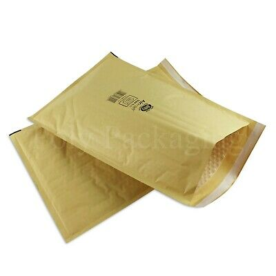 150 x JIFFY GOLD ENVELOPES 290x445mm(Size 6) Padded Mailing Bags Small Parcel