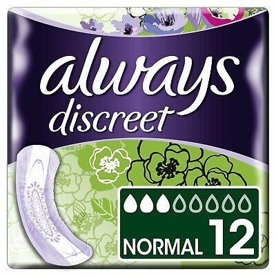 Always Discreet Inkontinenz-Einlagen, Normal Bei Blasenschwäche, 4er Pack (4 x