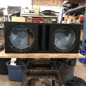 Ported sub box for pair of 12""""