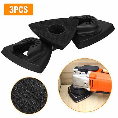 3pcs Sanding Kit Oscillating Multi Tool Sand Pad For Dremel Fein Rockwell Saw Us