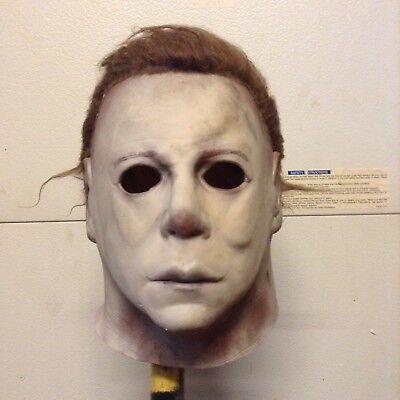 Myers mask leather face Jason Freddy horror  (Jason Mask)