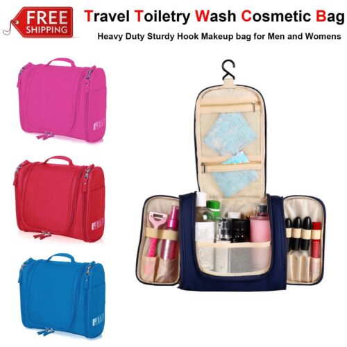 Waterproof Hanging Toiletry Bag Travel Cosmetic Kit Large Organizer Health & Beauty