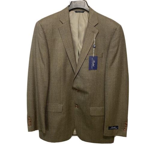 Ralph Lauren Mens Sport Coat Blazer Jacket 40 40L Light Brown NWT Clothing, Shoes & Accessories