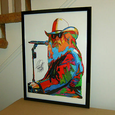 Leon Russell Vocals Piano Guitar Blues Rock Music Poster Print Wall Art 18x24 - $26.99