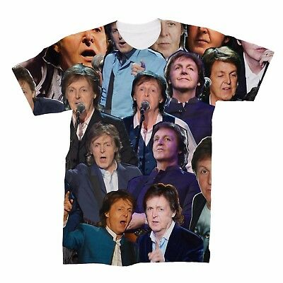Sir Paul McCartney The Beatles Collage T-Shirt ()