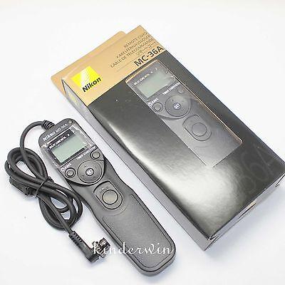 Nikon MC-36A Multi-Function Remote Shutter Release Cord for D4 D810 D800 D700 D3