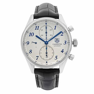 Tag Heuer Carrera Heritage Steel Silver Dial Automatic Mens Watch CAS2111.FC6292