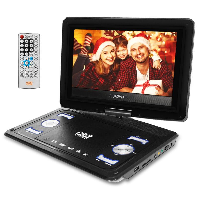 "13.9"" Portable DVD Player HD CD FM TV Player 16:9 LCD Widescreen Card Reader DP"