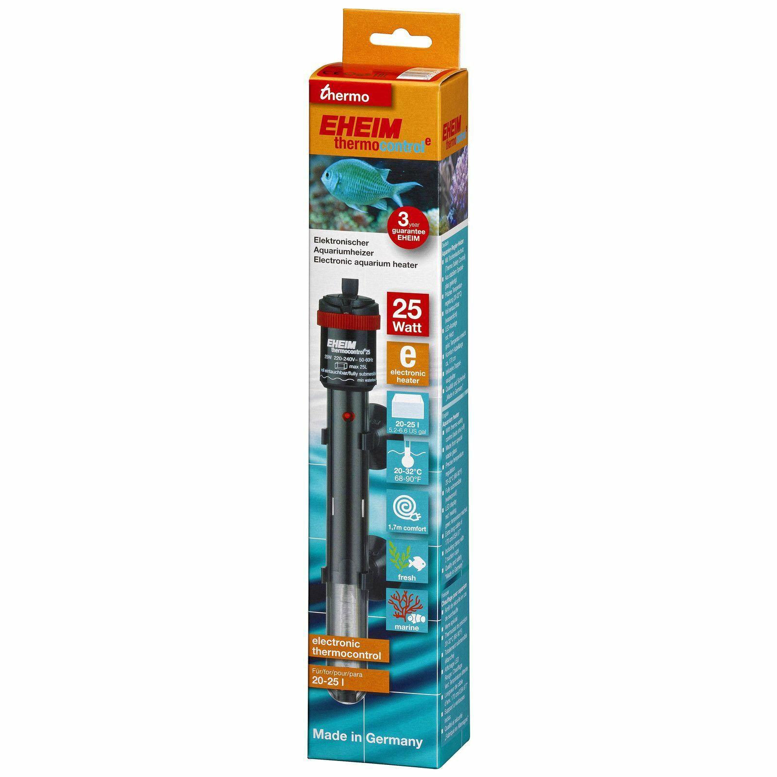 EHEIM thermocontrol e - elektronischer Regelheizer für Aquarien von 20 - 1.200 l