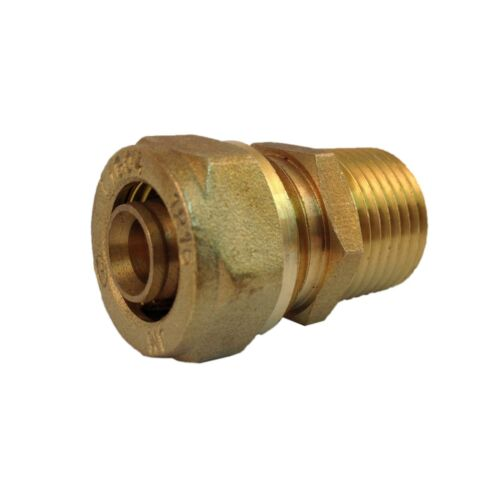 """Gasflex MALE Fitting 1620 3/4"""" tubing one end & 1/2"""" Male NPT other end (1 un)"""