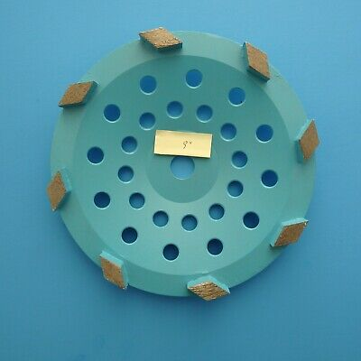 9 Metal Bond Diamond Grinding Wheel Concrete Floor Grinding Coating Removal