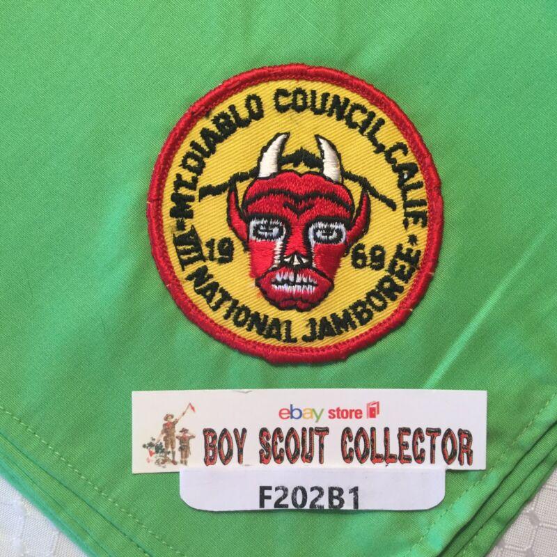 Boy Scout 1969 Mt. Diablo Council CA VII National Jamboree Neckerchief