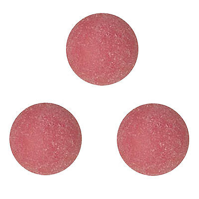 3 TORNADO Tournament Red Foosball foos ball Genuine Balls (OEM parts).