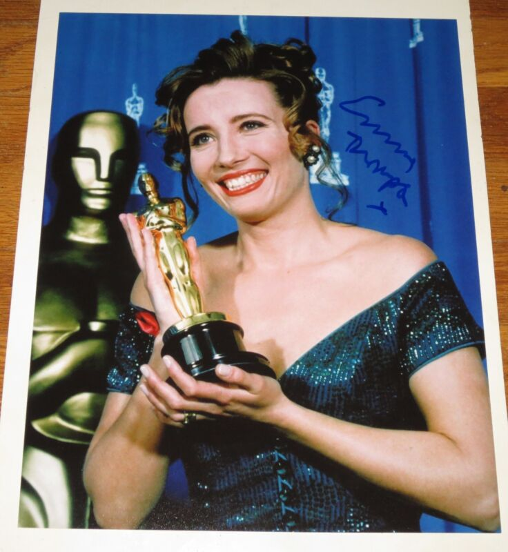 EMMA THOMPSON SIGNED 11X14 PHOTO AUTOGRAPH COA OSCAR WINNER BRITISH BEAUTY