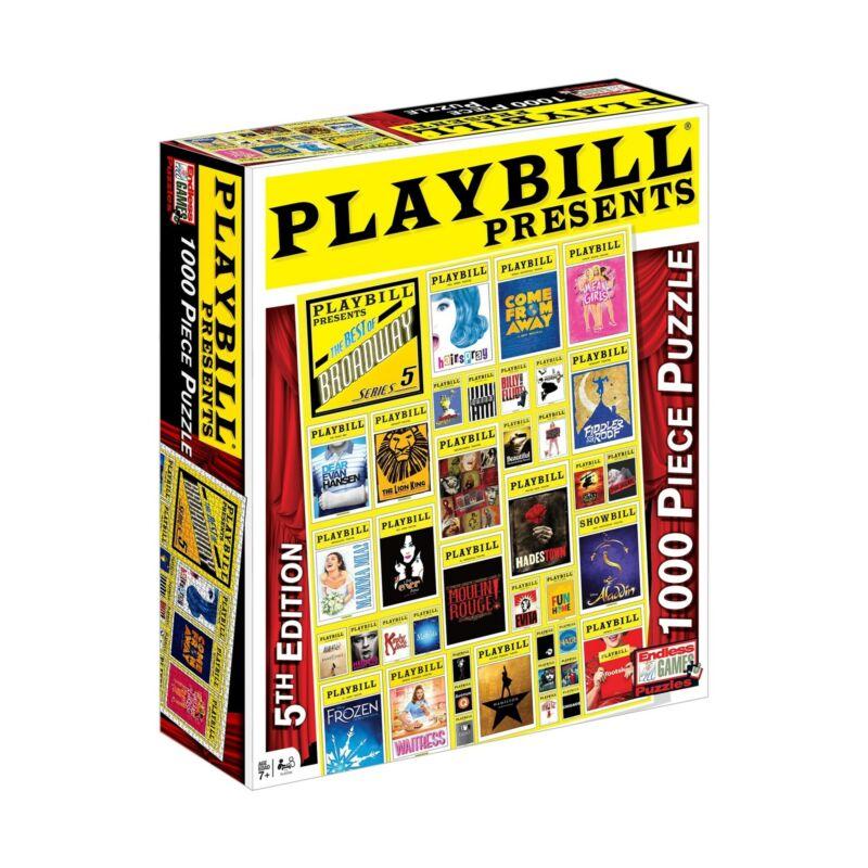 Playbill Presents - Best of Broadway 1,000-piece Jigsaw