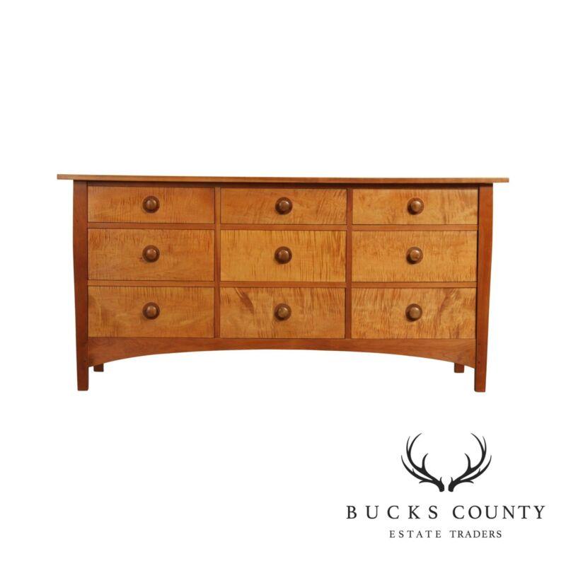 Stickley Mission Collection Cherry & Tiger Maple Harvey Ellis Dresser