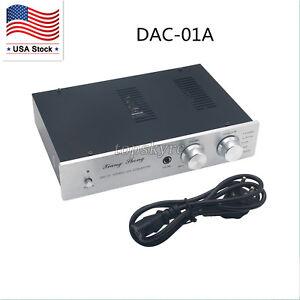 XiangSheng DAC-01A DAC Tube 24Bit 192Khz USB Decoders/Headphone/PreAmplifier US