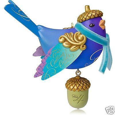 Days Four Calling Birds Ornament ( Hallmark Series Ornament 2014 Four Calling BIrds #4 Twelve Days of Christmas  )