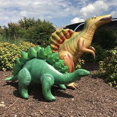 Inflatable Spinosaurus Stegosaurus Dinosaur Model Jurassic Toy Party Gift - Dinosaur Kids Costumes