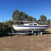 22' Boomeroo Trailer Sailer Daisy Hill Central Goldfields Preview