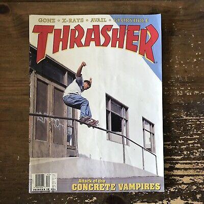 THRASHER magazine December 1996 SKATEBOARDING/SKATEBOARD