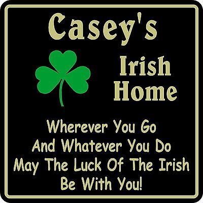 Irish Home Decor ( Personalized Irish Pub Bar Beer Home Decor Gift Plaque Sign #11 Custom USA Made )