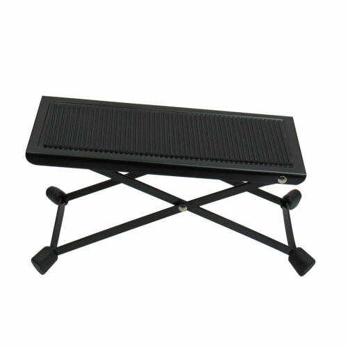 Guitar Foot Stool Guitar Foot Rest Adjustable Heights Folding Style