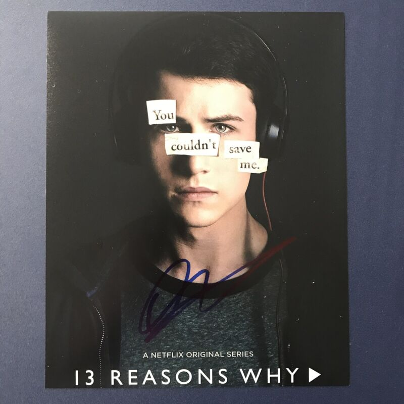 ACTOR DYLAN MINNETTE SIGNED AUTOGRAPHED 8x10 PHOTO 13 REASONS WHY HOT PROOF COA