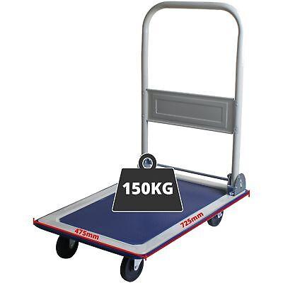 150KG Folding Platform Trolley Truck Sack Transport Hand Heavy Duty Flat Bed