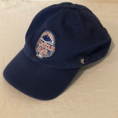 a04451b9 47 Brand New York Mets MLB 2013 All Star Baseball Hat Cap Blue Adult One  Size
