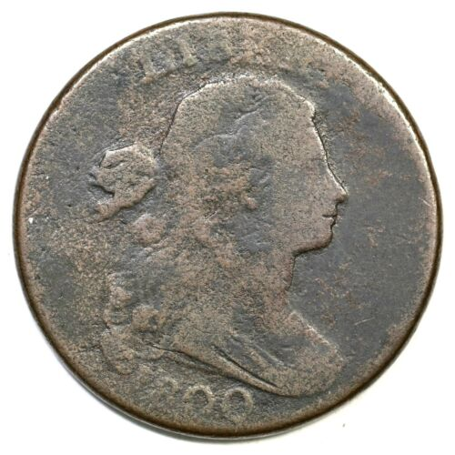 1800 S-205 R-4 Draped Bust Large Cent Coin 1c