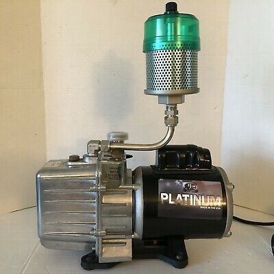 Jb Industries Platinum Dv-142n Vacuum Pump 5 Cfm Free Shipping