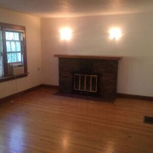 Crescents 1 bedroom character home  with fireplace & fenced yard