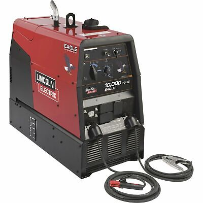 Lincoln Electric Eagle 10k Plus Dc Arc Welderac Generator