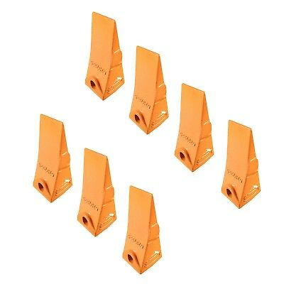 7 - Bobcat Style Mini Excavator Skid Steer Bucket Teeth - 6737325