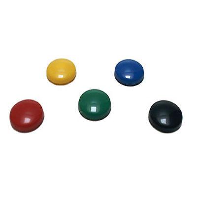 5 Magnete Memohalter Kühlschrankmagnete rot gelb grün blau schwarz Magnettafel