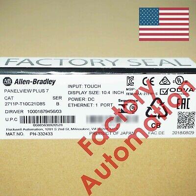 20182019 Us Stock Allen-bradley Panelview Plus 7 Standard 1000 2711p-t10c21d8s