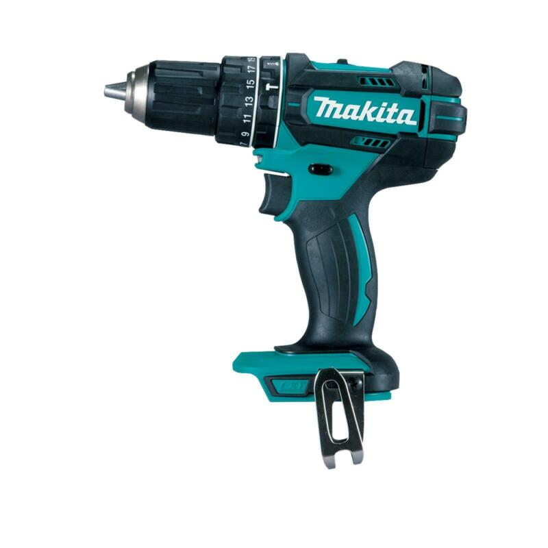 Makita 18v Li Cordless Hammer Drill - Skin Only - Japan Brand