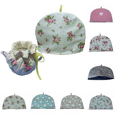 Vintage Fabric Tea Cozies Flower Pattern Tea Cosy Tea Pot In