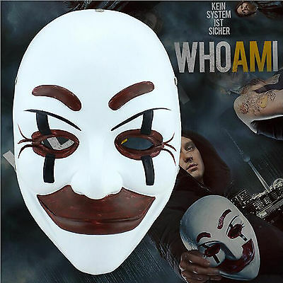 the film Subject who am I mask Halloween terror Cosplay Resin mask