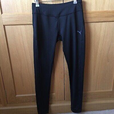 Puma Black Gym Sports Leggings Size 8