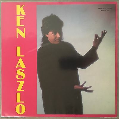 KEN LASZLO - Ken Laszlo (self titled Vinyl LP) German Import ME005