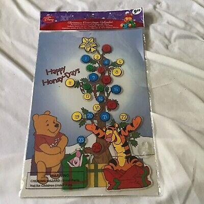 Disney Winnie the Pooh Countdown Christmas Advent Calendar NEW Never Opened NIP