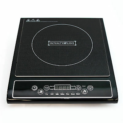 ROYALTY LINE DIGITAL ELECTRIC SINGLE 2000W INDUCTION HOB  LED DISPLAY BRAND NEW