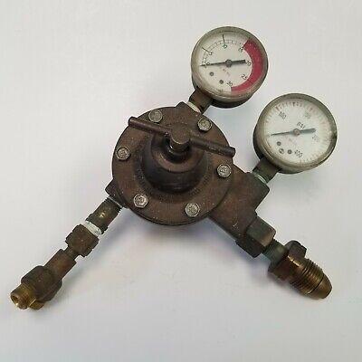 Modern Engineering Dual Gauge Regulator Meco P-i-l Type P Multiseat Gas