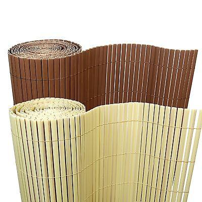 5 €/ M ² bambù PVC Schermo Privacy pravista STECCATO BALCONE GIARDINO