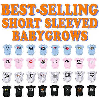 Funny Baby Babies Babygrow Jumpsuit Romper Pajamas - SUPER V