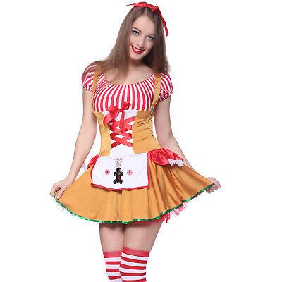 Sexy Landhaus Kostüm Maskerade Kostüm Kleid für Weihnachten - Fancy Kleid Kostüme