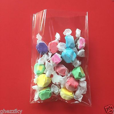 100 - Clear Cellophane Cello Small Treat Candy bags Wedding
